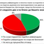 Българите са раздвоени по отношение на референдумите