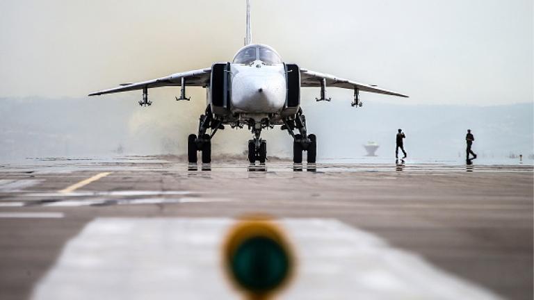 Руски бомбардировач се разби в Сирия, екипажът загина