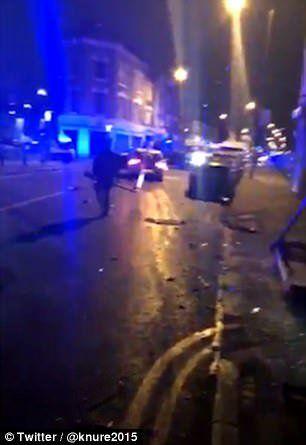 Кола се вряза в пешеходци в Лондон, петима са ранени