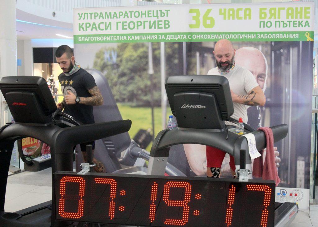 cd788fc2427 Ултрамаратонецът Красимир Георгиев в опит за рекорд с ...