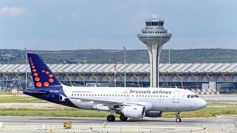 75% от полетите на Brussels Airlines са отменени заради стачка