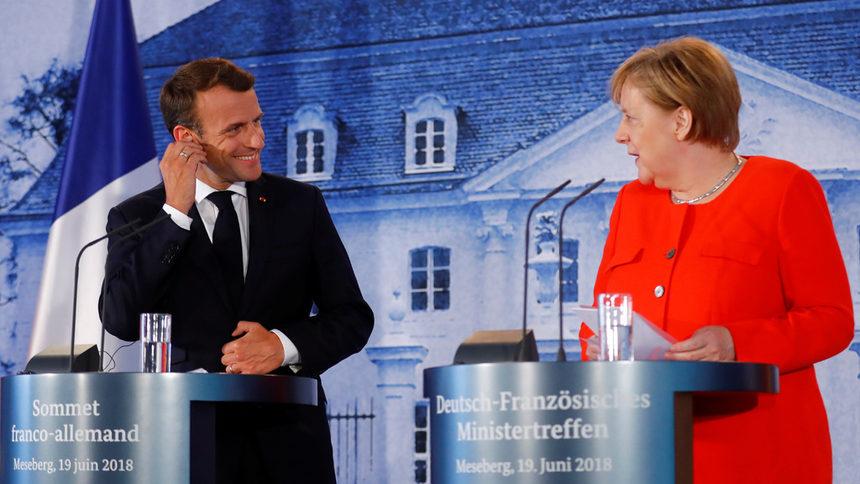 Меркел и Макрон постигнаха ключова сделка за общия бюджет на еврозоната