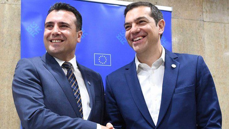 Заев и Ципрас се договориха за името на Македония
