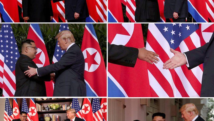 Историческият разговор между Тръмп и Ким Чен Ун приключи позитивно