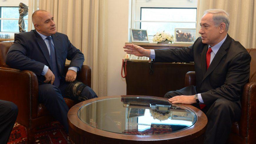 Борисов на срещата с Нетаняху: Дали не можем да направим и самолетопроизводство