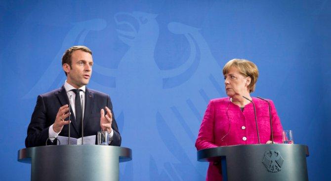 Меркел и Макрон сближават позиции за бъдещето на еврозоната