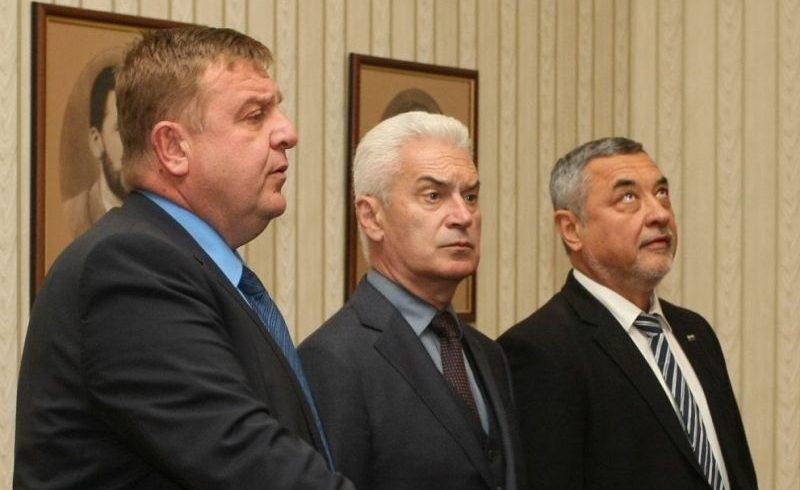 Тримата патриоти се срещнали с Борисов заради вицепремиерския пост