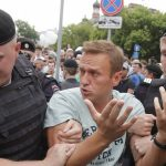 Руският опозиционен лидер Навални бе осъден на 10 дни затвор