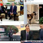 """Между Коледното дърво и кучето Конан. """"Историческата среща"""" на Борисов с Тръмп"""