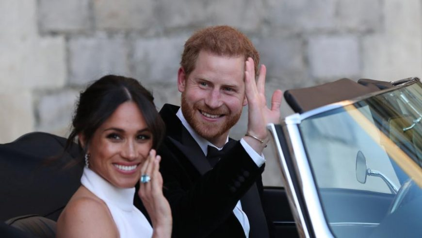 """Принц Хари и новата """"народна принцеса"""" Меган"""